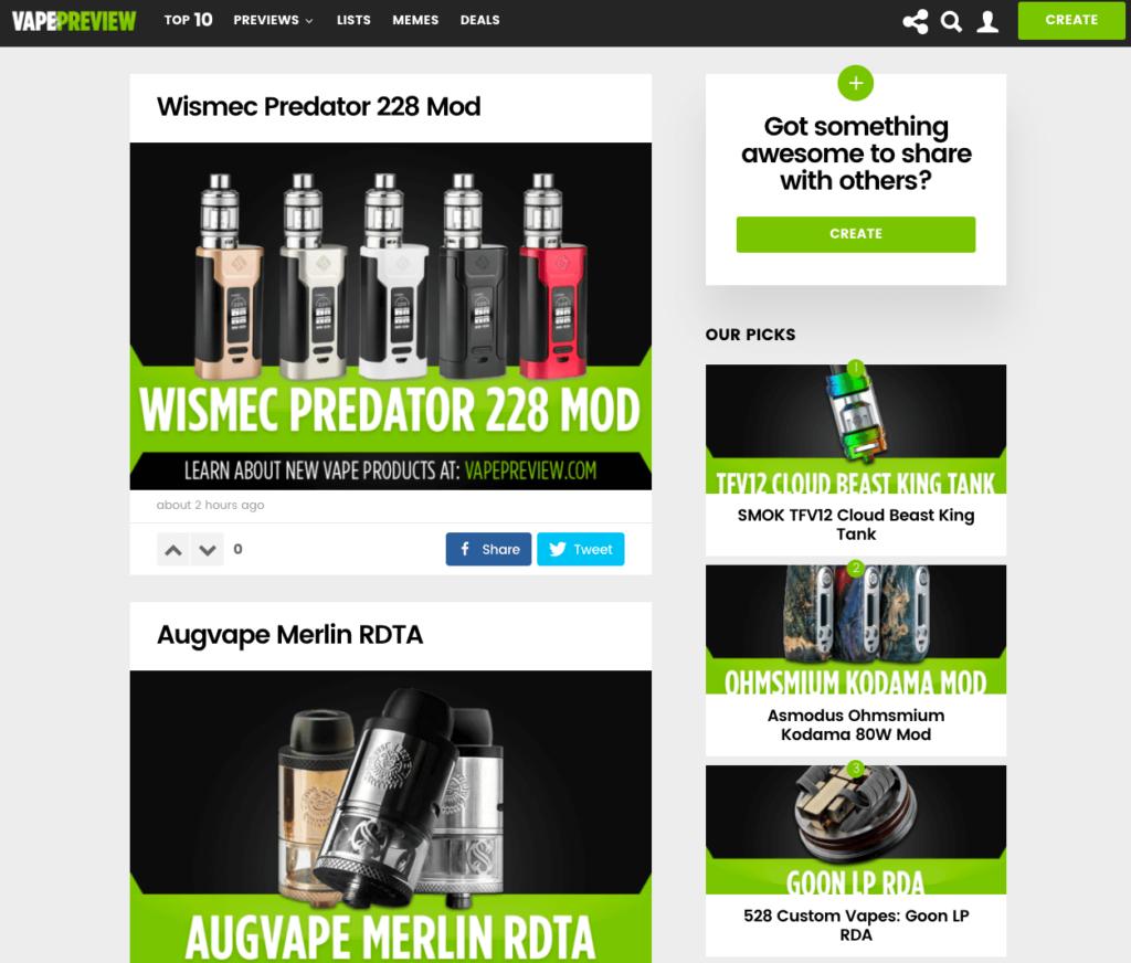Vape Preview - Best Vape Review Sites