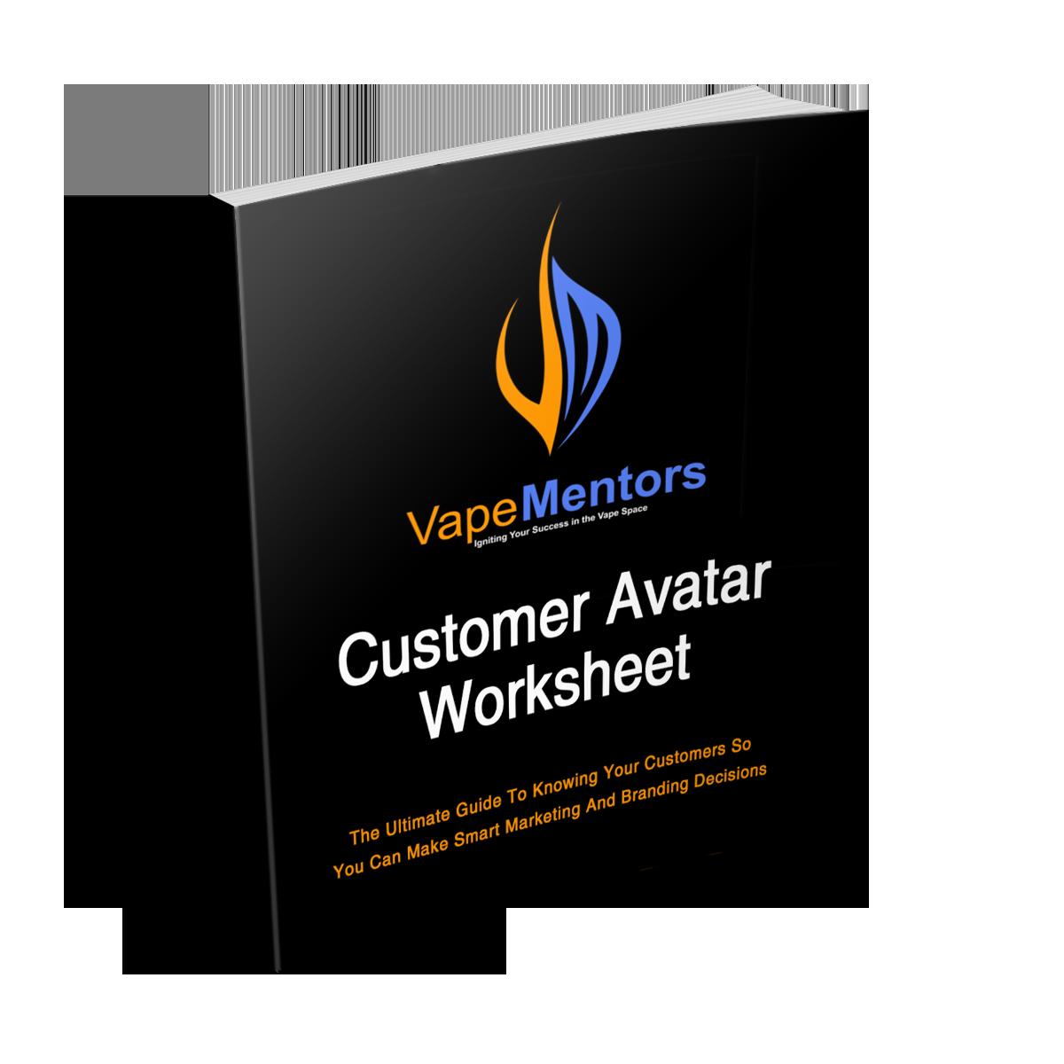customer avatar for vape shops