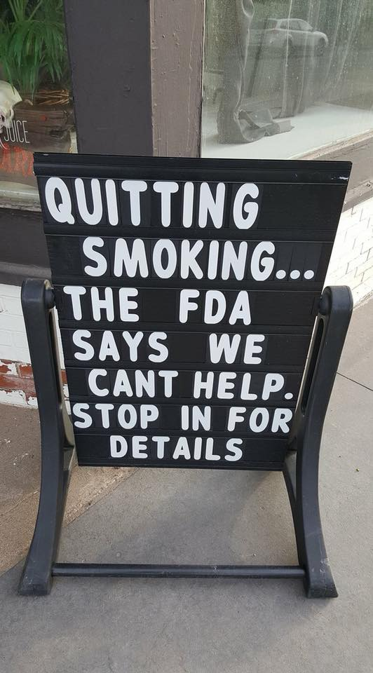 Smoking Cessation Claims - Quit Smoking With Vaping